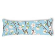 Veronicaca Oriental Cherry Blossom Custom Cotton Body Pillow Covers Pillow Cases 50cm x 140cm
