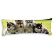 Veronicaca Lovely Dog Custom Cotton Body Pillow Covers Pillow Cases 50cm x 140cm