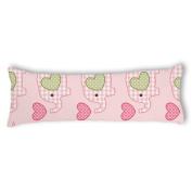 Veronicaca Lovely Cartoon Elephant Custom Cotton Body Pillow Covers Pillow Cases 50cm x 140cm