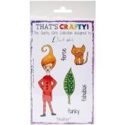 That's Crafty Clear Stamp 10cm x 15cm -Heather