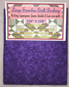 Quilt Backing, Large, Seamless, C44395-405, Dark Purple