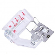 Home Adjustable Domestic Sewing Machine Bias Binder Edge Presser Foot Binding Feet Kit Set Accessories