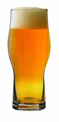 MasterBrew 8603 Ochre 470ml Glass-(2 PACK) gift box Beer Glasses, Clear