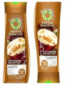 Herbal Essences The Sleeker The Butter - Smooth Shampoo & Conditioner - Smooth Hair In 1 Wash - Net Wt. 10.1 FL OZ (300 mL) Each - One Set by Proctor & Gamble, Inc.