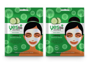 Yes To Cucumbers Calming Paper Mask Bundle