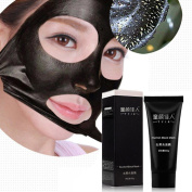 OVERMAL Black Mud Deep Cleansing Purifying Peel Off Facail Face Mask Remove Blackhead Facial Mask