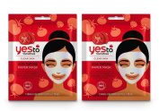 Yes To Tomatoes Acne Fighting Paper Mask Bundle