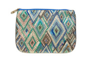 Stephanie Johnson Istanbul Cobalt Large Flat Pouch