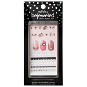 She's Gotta Have It Bejewelled Nail Art