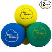 Sky Bounce Colour Rubber Handballs for Recreational Handball, Stickball, Racquetball, Catch, Fetch, and Many More Games, 5.7cm