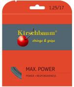 Kirschbaum MAX Power, Grey, Tennis String Set