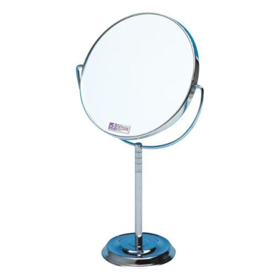 Comolife magnifying makeup mirror stand , Size : H11.5xW6.15cm , .14cm , made in Japan