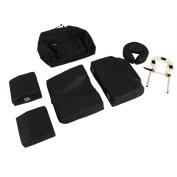 Minerva Deluxe Massage Pregnancy Bolster Set in Black