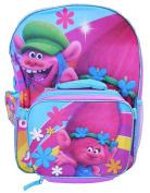 Dreamworks Trolls 41cm Backpack w/ Detachable Lunch Bag