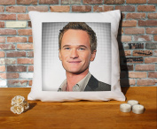 Neil Patrick Harris Cushion Pillow - Pop Art - 100% Cotton - Available with or without filling pad - 40x40cm (Cover only)