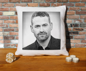 Max Martini Cushion Pillow - Pop Art - 100% Cotton - Available with or without filling pad - 40x40cm (Cover only)