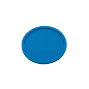 Haodasi 4X Circular Insulation Silicone Coasters Mug Cup Mats Tableware Pads Cup Holder Colour Blue