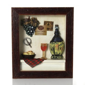 Picture frame collage Wine bottle