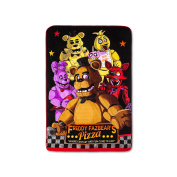Five Nights at Freddy's Bed Blanket