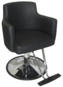 Italica Black Class Act Image Maker Hair Styling Chair For Kids or Teenagers In Hair Salons