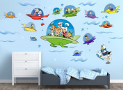 Jetsons Spacecraft Wall Decals
