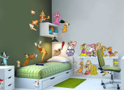 Hanna-Barbera Running Around Wall Decal
