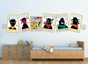Hanna-Barbera McGraw Poster Decals