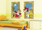 Hanna-Barbera Quick Draw Window Decals
