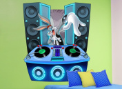 DJ Bugs Bunny Wall Decal