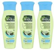 Shampoo VATIKA COCONUT Tropical - 3 X 200 ml