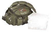 Iron Claw Buddy Bag + 3 Carryall/Tackle Boxes