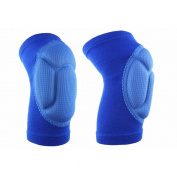 Elemart Volleybal Knee Pads - Thick Sponge Comfortable Fit Impact Resistance KneePad for Volleyball Cycling Outdoor Sports