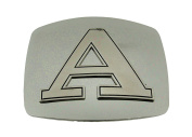 Western Belt Buckle Initial A Letter American Alphabet Monogram Cowboy New Rodeo