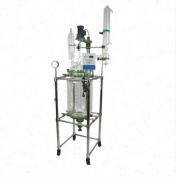 Kohstar Lab Jacketed Chemical Glass Reactor,30L,Glass Reactor