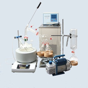 Kohstar Lab scale small short path distillation equipment,5L short path distillation with stirring heating mantle