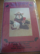 """Christmas """"Scent""""iments From The Heart Pattern - Santa, Angel and Soldier"""