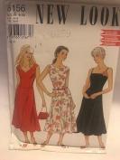 New Look Pattern 6156 Sleeveless Dress Size A 8-18