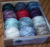 Valdani 3-strand cotton floss - Winter Quakers - Rosewood Manor