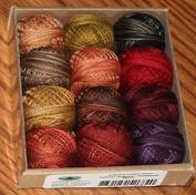 Valdani 3-strand cotton floss - Autumn Quakers - Rosewood Manor