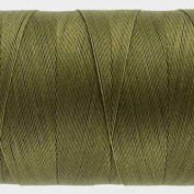 WonderFil Specialty Threads Konfetti Thread Avocado Green, 50wt double gassed Egyptian cotton