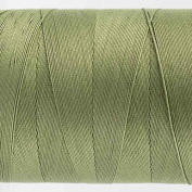 WonderFil Specialty Threads Konfetti Thread Sage Green, 50wt double gassed Egyptian cotton