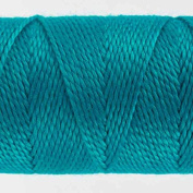 WonderFil Specialty Threads Sue Spargo Eleganza 2-ply #8 Perle Cotton solids, Paradise Blue