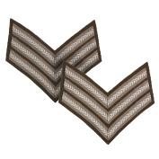 WW2 Reproduction British Rank Stripes - Sergeant