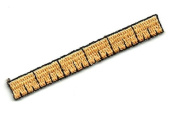 "DKAORU School - Ruler - Embroidered Iron On Applique Patch - 2.25"" (5.7cm) Happy crafting"