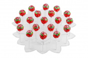 YestBuy flower Shaped Acrylic Cake Pop Stand 1 pc /Pack