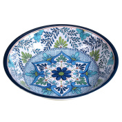 Certified International Talavera Melamine 35cm x 7cm Large Serving Bowl, Multicolor