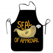 Seal Of Approval Chef Kitchen Cooking And Baking Bib Apron