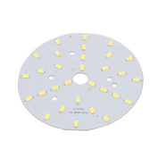sourcingmap® 100mm Dia 15W 30 LEDs 5730 High Power SMD Pure White LED Ceiling Lamp Board