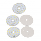 sourcingmap® 5Pcs 90mm Dia 18W 36 LEDs 5730 High Power SMD Pure White LED Ceiling Lamp Board