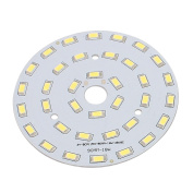 sourcingmap® 90mm Dia 18W 36 LEDs 5730 High Power SMD Pure White LED Ceiling Lamp Board